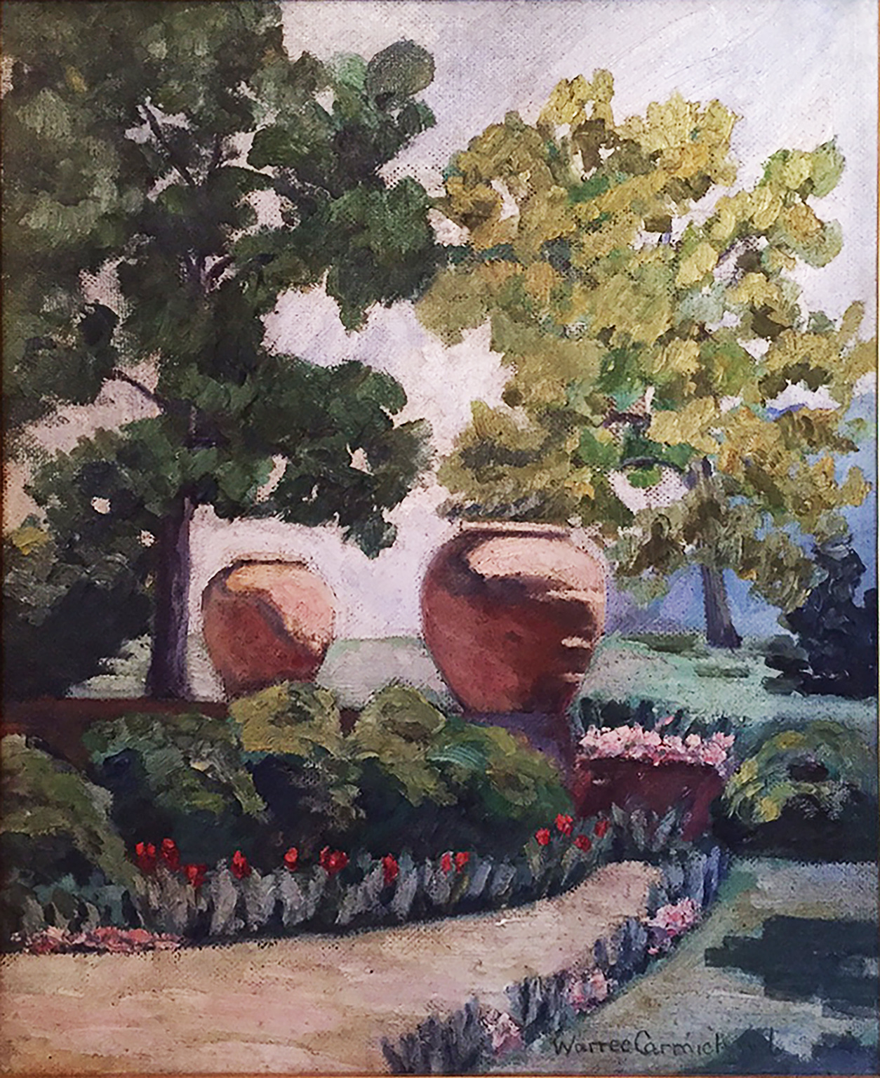 Urns at jasmine Hill