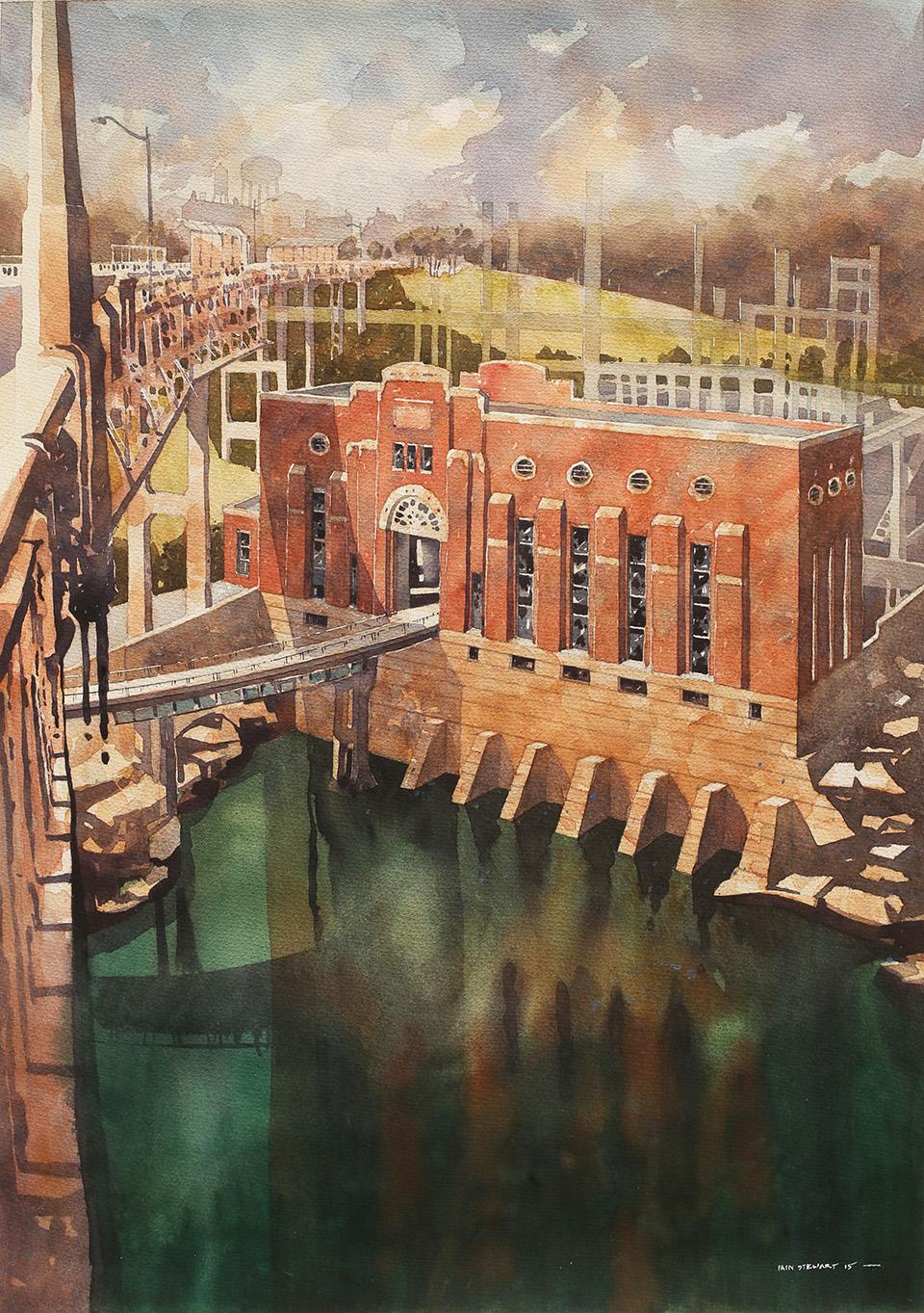Alabama Artist Iain Stewart
